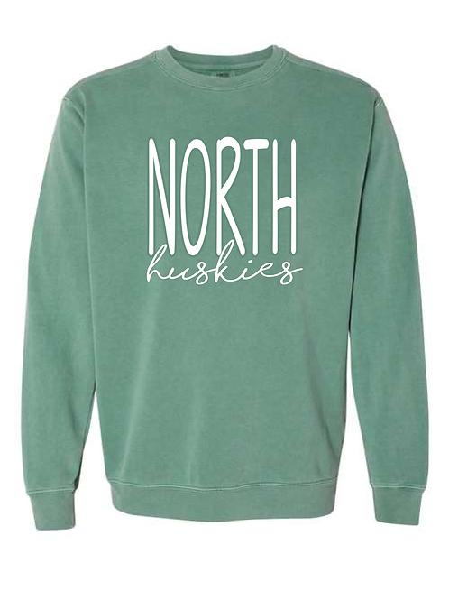North Huskies Comfort Color Sweatshirt