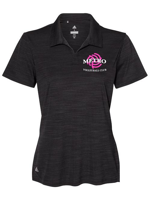 Women's Cut Adidas Metro Women's Team Embroidered Polo