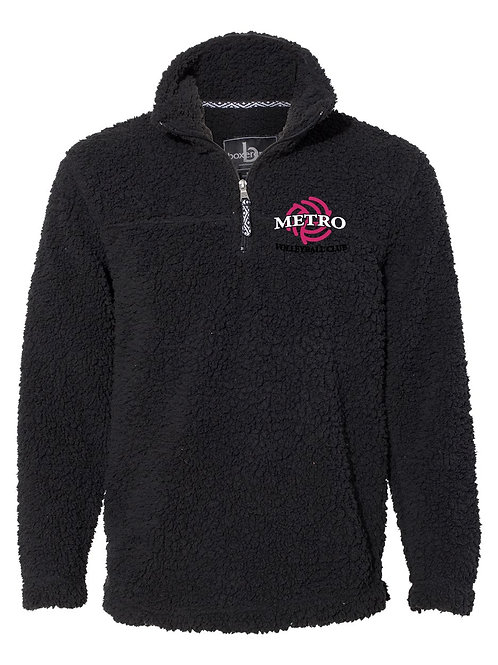 Sherpa Quarter zip Adult/youth - Embroidery only