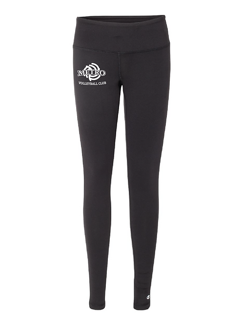 Champion Leggings with Metro Volleyball Logo