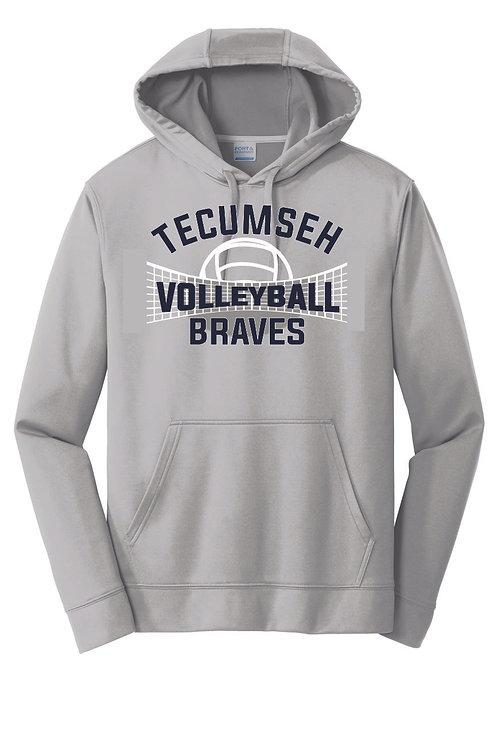 Sport-Tek® Sport-Wick® Fleece Crew Neck Sweatshirt