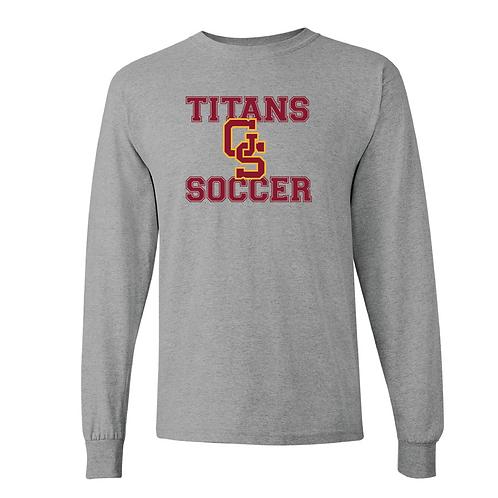 GS Soccer Gildan Long Sleeve Tee