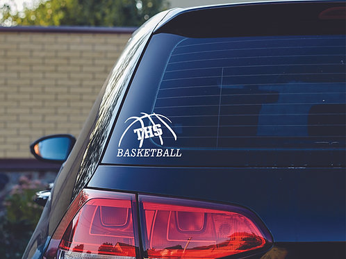 Car Decal -THS Basketball