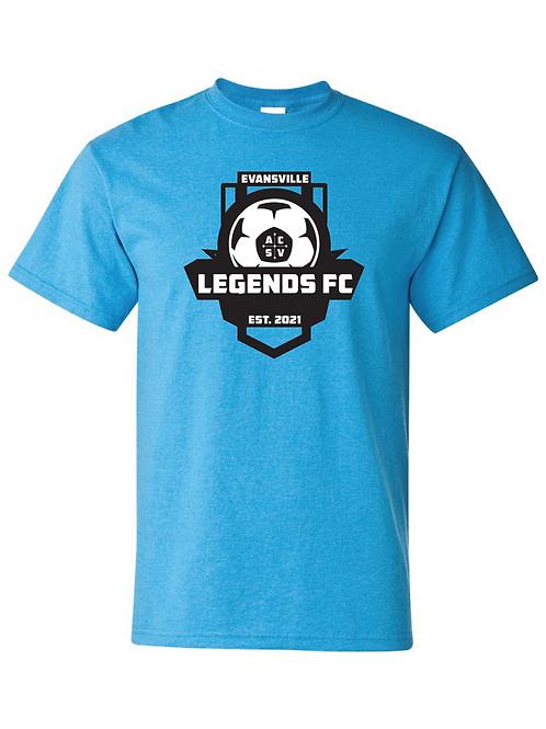Gildan Short Sleeve T-Shirt Legends Crest - Youth & Adult