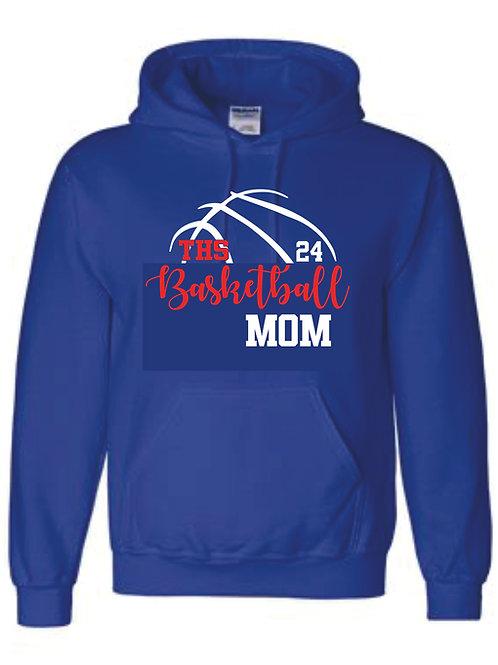Hooded Sweatshirt - MOM w/ number option
