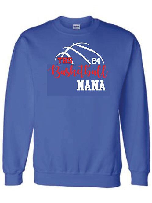 Crewneck Sweatshirt - NANA w/ number option