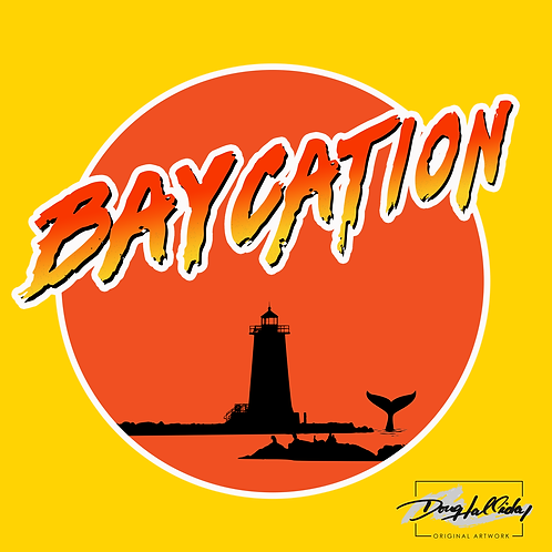Baycation Decal