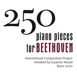 250 piano pieces for Beethoven