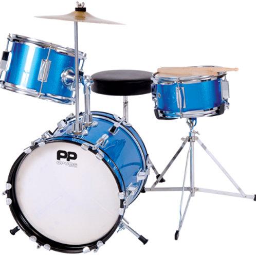 Junior 3pc Drum Kit (Blue)