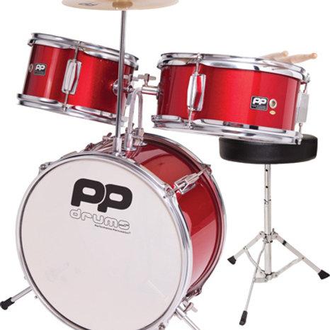 Junior 3pc Drum Kit (Red)