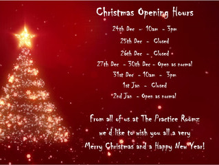 A very Happy Christmas to you all from The Practice Roomz Team xx