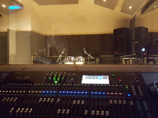 Studio gets an Upgrade! New mixing desk for NEW YEAR!!!