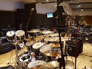 ZOOM UK - Drum Recordings in studio