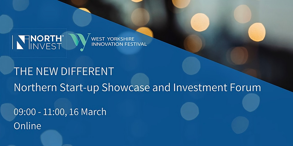 The New Different: Northern Start-up Showcase & Investment Forum