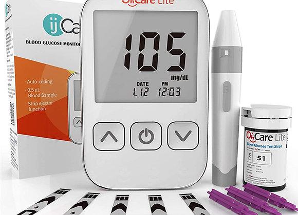Diabetes Testing Kit (50 strips & 50 Lancets)