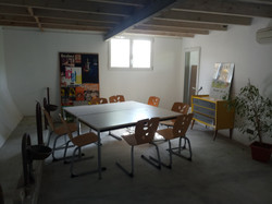 Salle classe et atelier