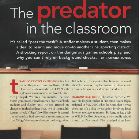 Sex Abuse Scandal: The Predator in the Classroom