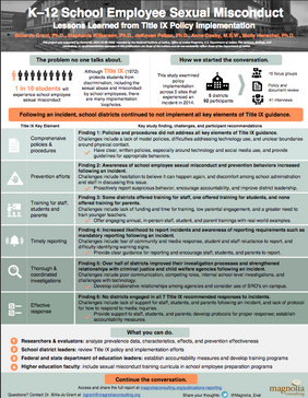 DOJ Study One Page Overview