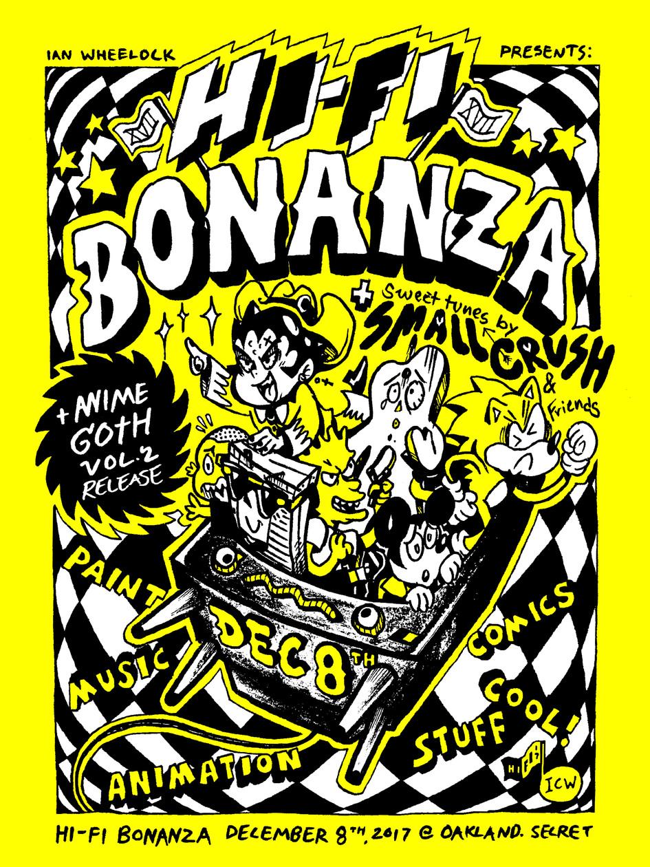 Hi-Fi Bonanza 2017 Poster
