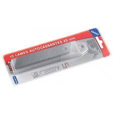 10 Lames autocassables, Taille 18 mm