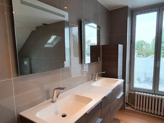 Nouveau chantier: salle de bains, 11 jours