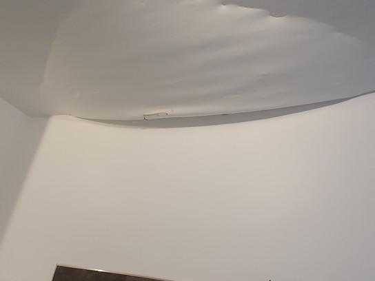 Réfection plafond cuisine suite dégâts des eaux.