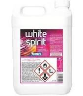 5 Litres de White Spirit.