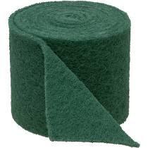 Rouleau abrasif è récurer vert 15 cm par 10M.