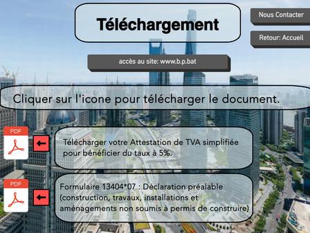 Nouvelle page sur le site: Téléchargement.