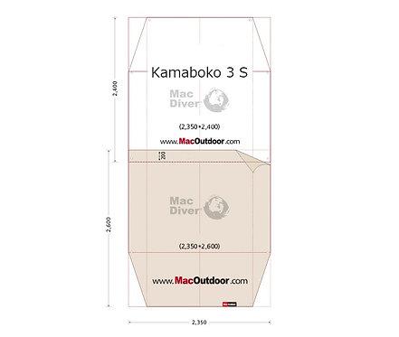 DOD カマボコ 3S 前室用 グランドシート Fire Proof 難燃性