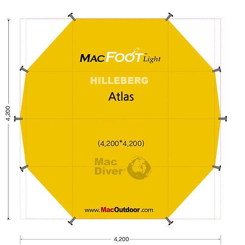 ヒルバーグ アトラス8人用 Mac Foot Light