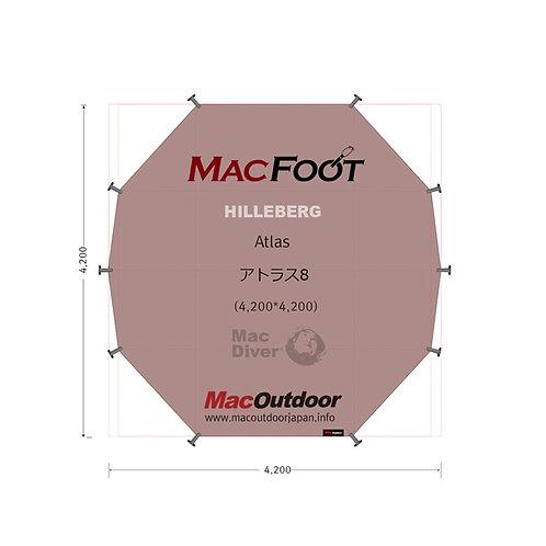 ヒルバーグ アトラス8人用 Mac Foot
