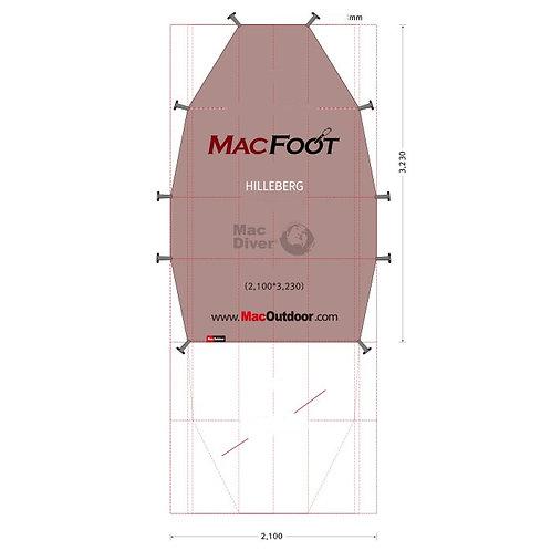 ヒルバーグ サイタリス Mac Foot 後室含む