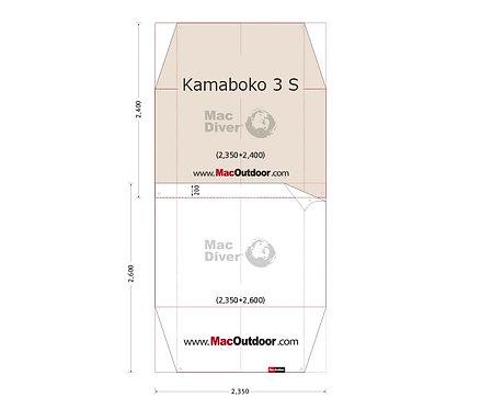 DOD カマボコ 3S インナー用 グランドシート Fire Proof 難燃性