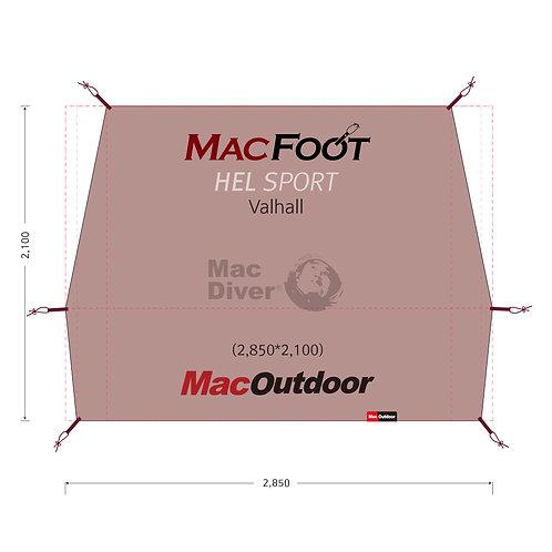 Hel sport バルホール インナー用 グランドシートMac Foot