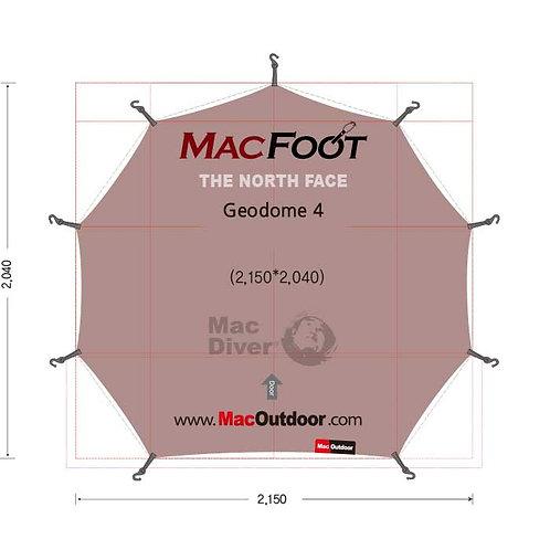 North Face ジオドーム Mac Foot  一体型