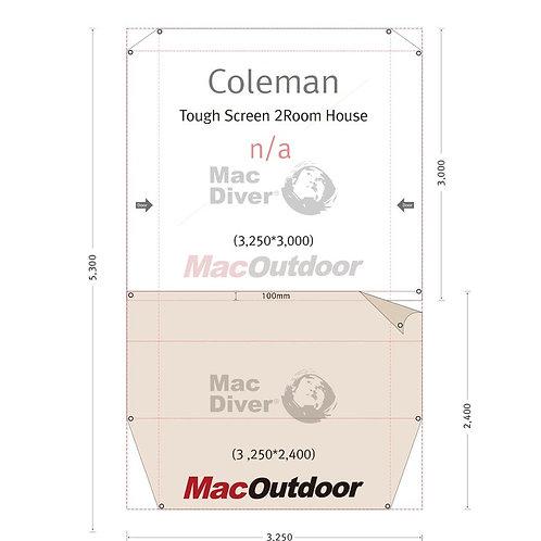 Coleman タフスクリーン2ルームハウス Fire Proof インナー用