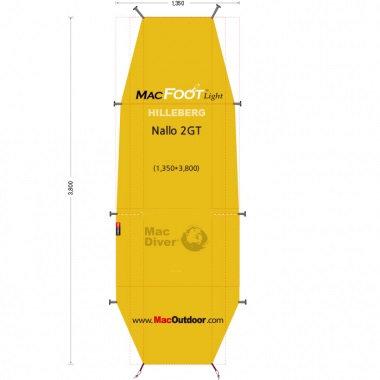 ヒルバーグ ナロ 2GT 一体型 Mac Foot Light