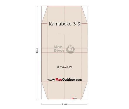 DOD カマボコ 3S 一体型 グランドシート Fire Proof 難燃性