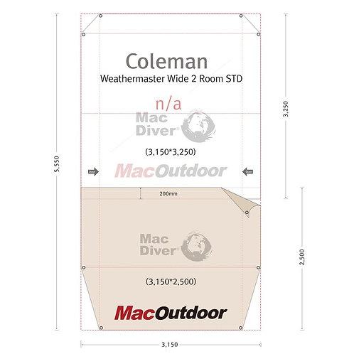 Coleman ウェザーマスターワイド2ルームSTD Fire Proof インナー用