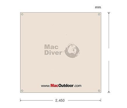 Mac outdoor Fire Proof 245x245cm