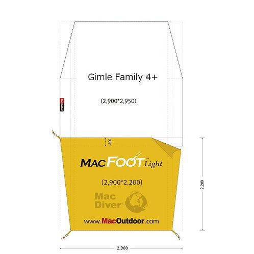 ヘルスポート ギムレ 4+ Mac Foot Light インナー用 Gimle 4+