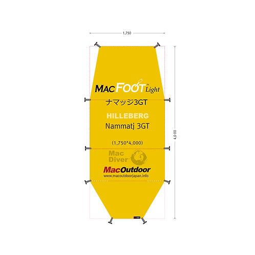 ヒルバーグ ナマッジ 3GT 一体型 Mac Foot Light