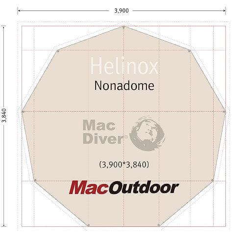 12月入荷 Helinox ノナドーム 一体型 グランドシート Fire Proof
