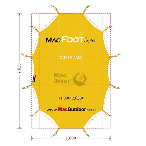 North Face oval Intention インナー用 Mac Foot Light