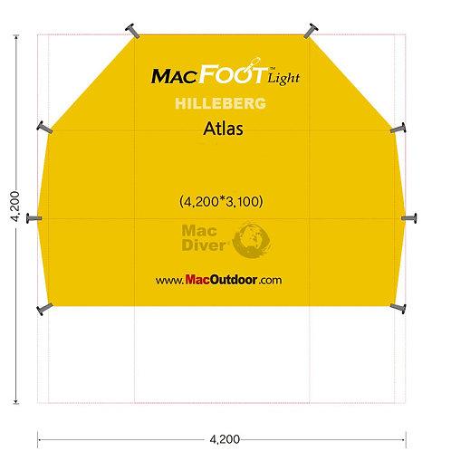 ヒルバーグ アトラス6人用 Mac Foot Light