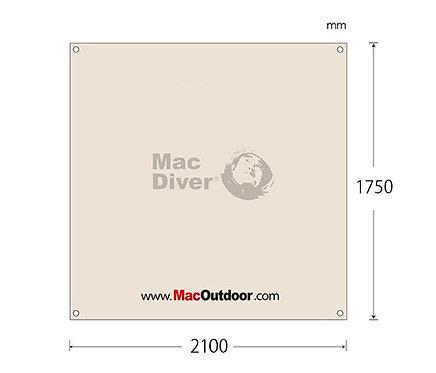 Mac outdoor Fire Proof 210x175cm