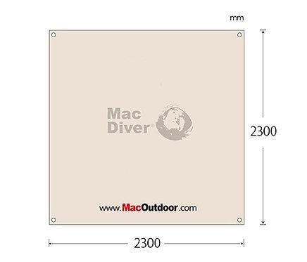 Mac outdoor Fire Proof 230x230cm