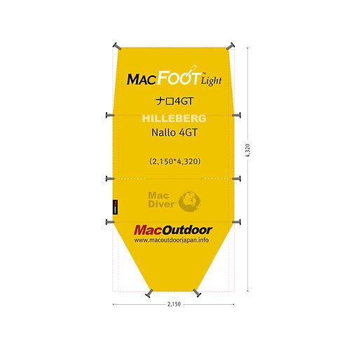 ヒルバーグ ナロ 4GT 一体型 Mac Foot Light