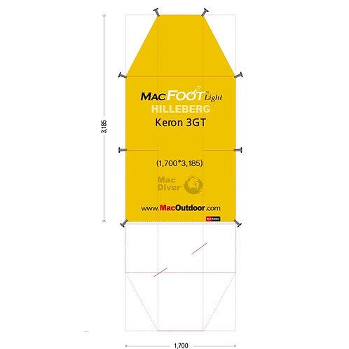 ヒルバーグ Keron 3GT Mac Foot Light 後室含む ケロン3GT
